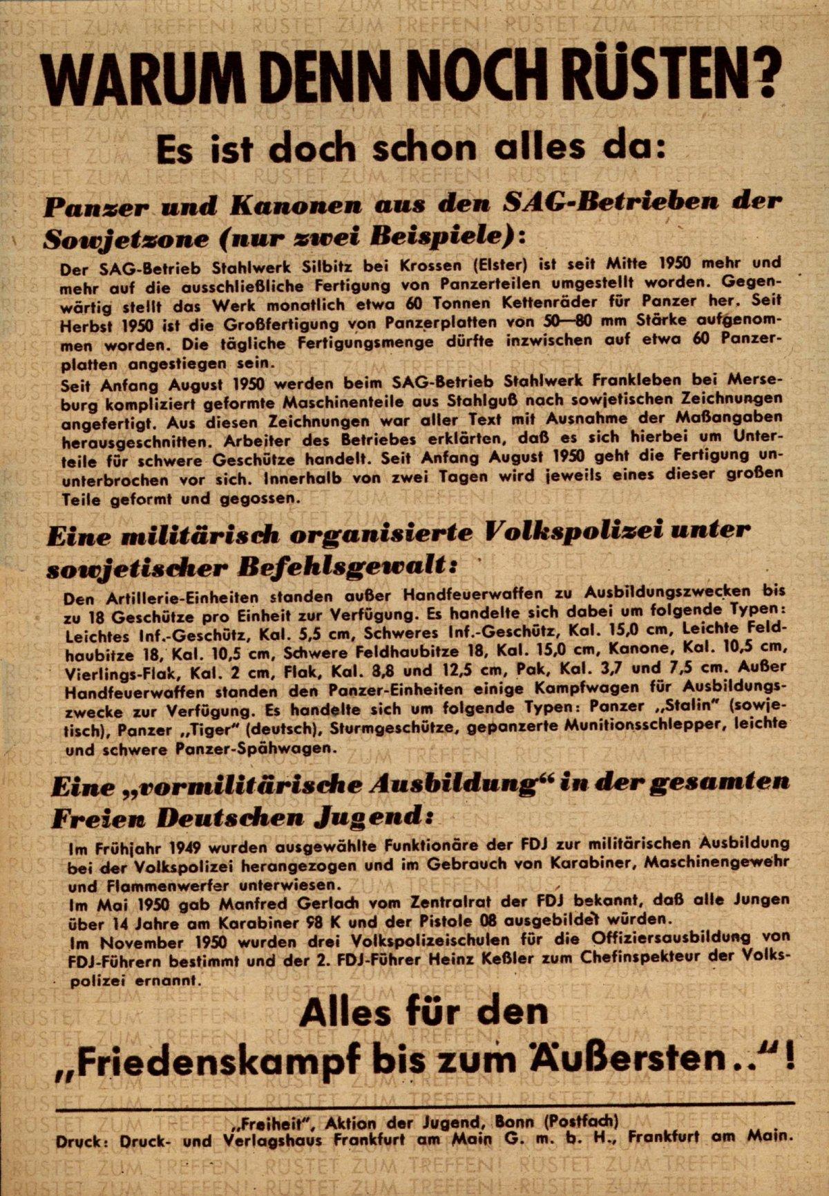 Jugend nach dem Krieg | Jugendopposition in der DDR