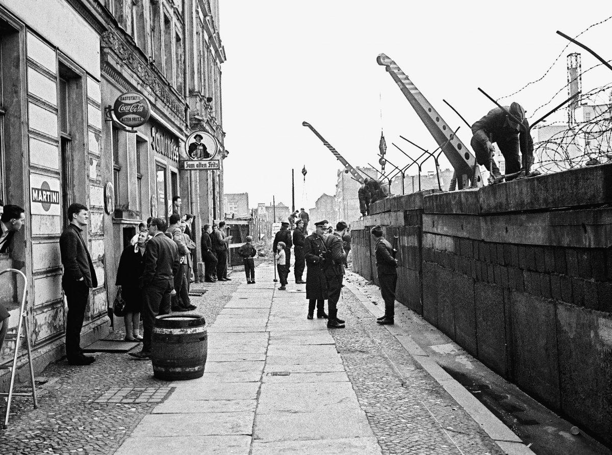 Bau Der Berliner Mauer Karte.Mauerbau Jugendopposition In Der Ddr